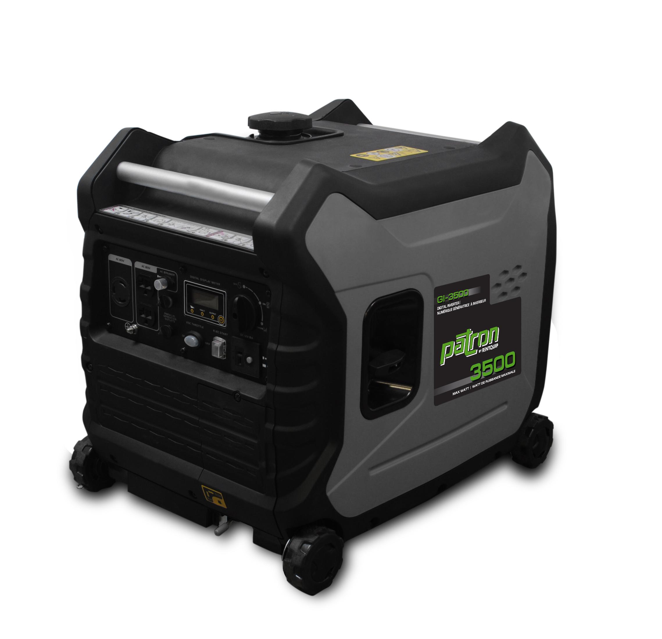 3 500W Patron Inverter Generator